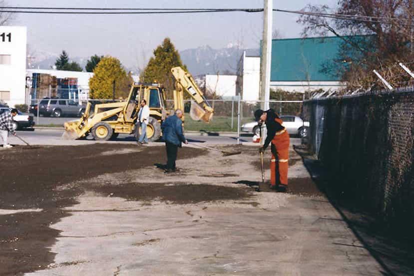 paving contractors Vancouver